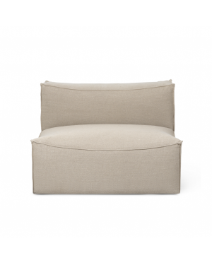 FERM LIVING - Catena Sofa - Center 100 Rich Linen – Natural