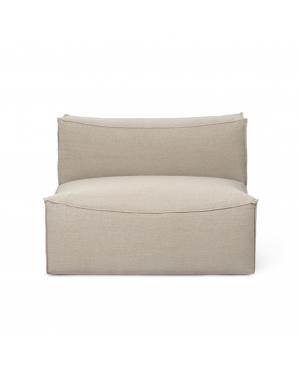 FERM LIVING - Catena Sofa - Center 100 Rich Linen – Natural