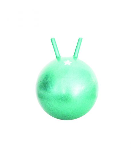 RATATAM - Ballon sauteur - Vert pailleté