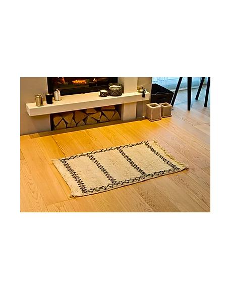 JADES HERITAGE - BENI OUARAIN - Tapis Berbère JAAD - 100 x 60 cm