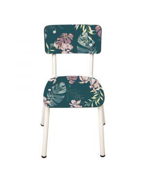 LES GAMBETTES LITTLE SUZIE - Chaise d'écolier vintage - Tropique - Edition limitée