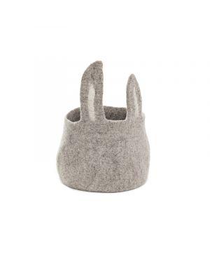 MUSKHANE - Pasu Bunny Basket - Grey