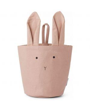 Liewood - Storage Basket in Organic Cotton - Rabbit