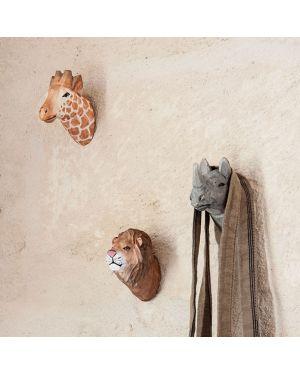 FERM LIVING - Patère en bois - Girafe