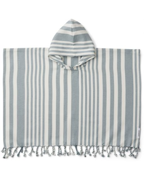Liewood - Poncho Roomie - Sea Blue