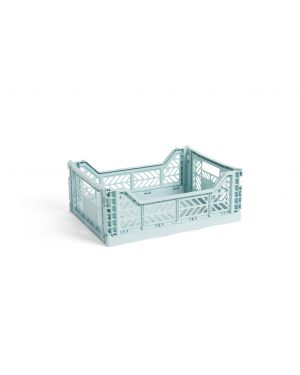 HAY - Cagette pliable - Moyenne - Bleu Artic