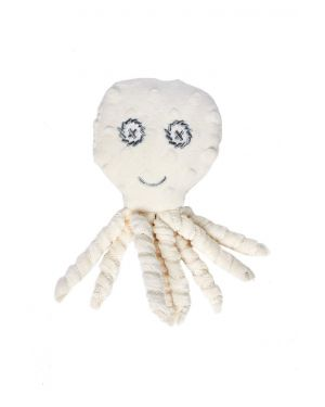 Elva Senses - Teddy Sensory Tully Octopus - White cream