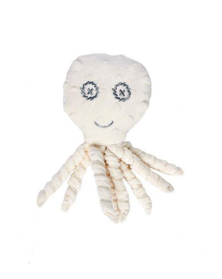 Elva Senses - Teddy Sensory Tully Octopus - White cream