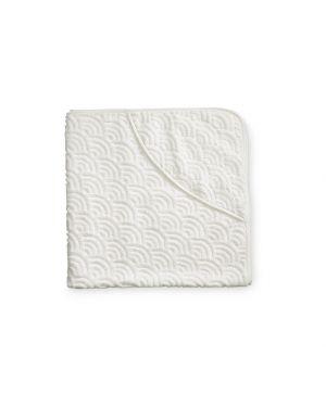 CAM CAM COPENHAGEN - Baby Towel Hooded - Off-White - 105*105