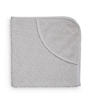 CAM CAM COPENHAGEN - Baby Towel Hooded - Grey - 105*105