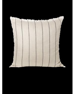 Ferm LIVING - Calm Cushion 80x80 cm - Camel/Black