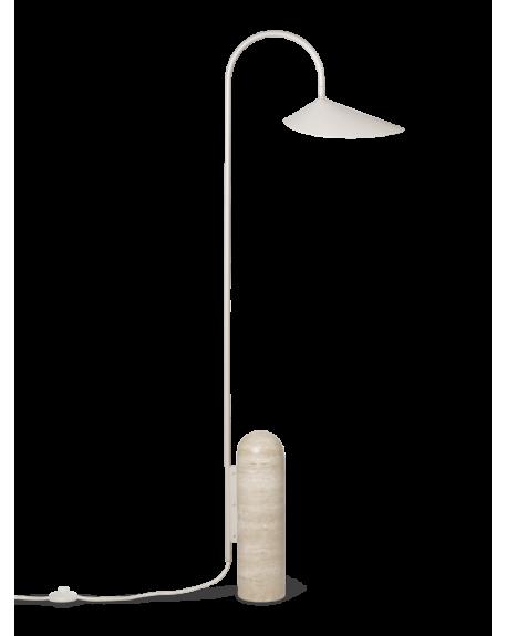 Ferm LIVING - Arum Floor Lamp - Cashmere
