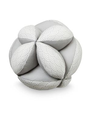 CAM CAM COPENHAGEN - Organic Cotton Baby Grab Ball - Grey Wave