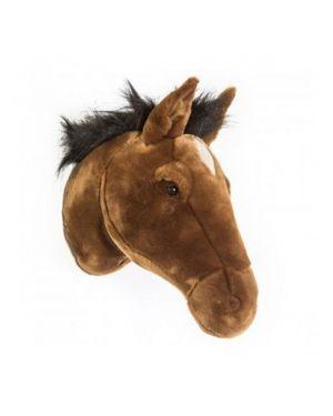 WILD & SOFT - Trophy in plush - Black horse