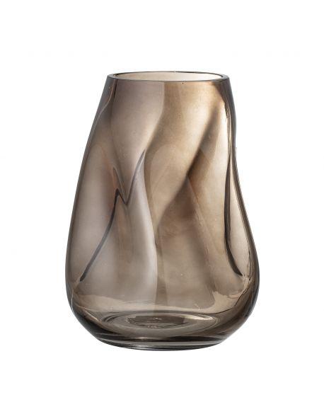BLOOMINGVILLE - Vase - Brown - Glass