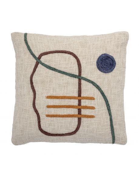 BLOOMINGVILLE - Cushion - Nature - Cotton