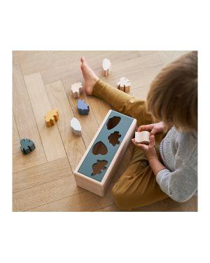 Liewood - Midas Puzzle en bois - Dino mix