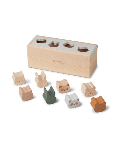 Liewood - Midas Puzzle Box - Classic mix