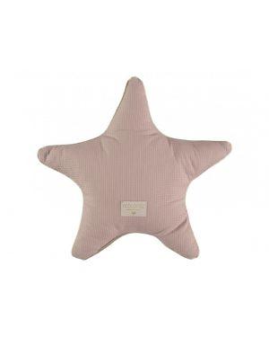 Nobodinoz - Coussin étoile Aristote - misty pink