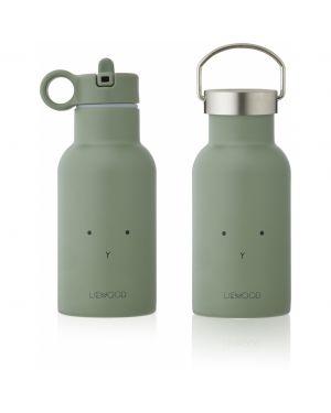 Liewood - Anker water bottle - Rabbit faune green
