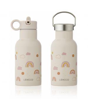Liewood - Anker water bottle - Rainbow