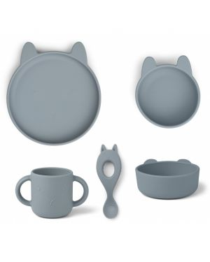 Liewood - Dinner Set Carol Package - blue