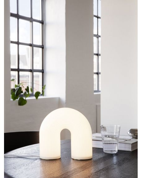 Ferm LIVING - Vuelta Lamp - White