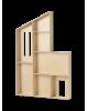 FERM LIVING KIDS - Maison de poupée en bois - Etagères