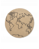 FERM LIVING KIDS - Jute Carpet - World