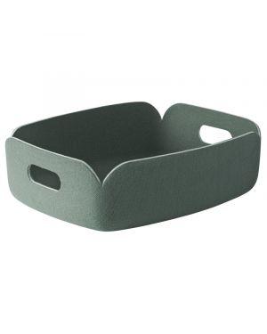 MUUTO RESTORE - Panier de Rangement Design - vert amande