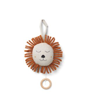 FERM LIVING KIDS - Mobile Musical Lion - Beige naturel