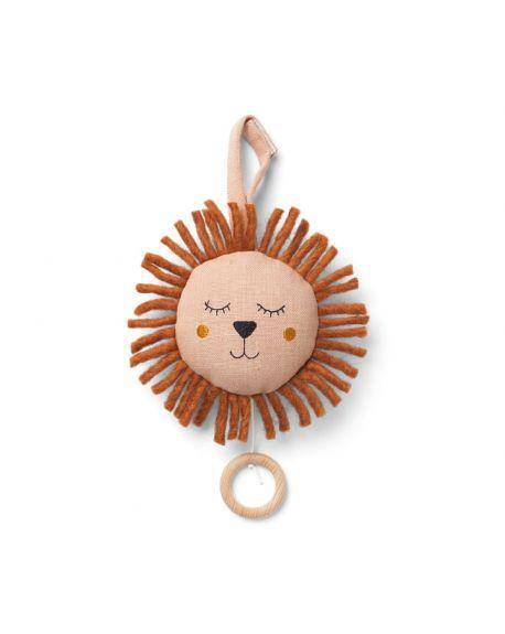 FERM LIVING KIDS - Mobile Musical Lion - Rose
