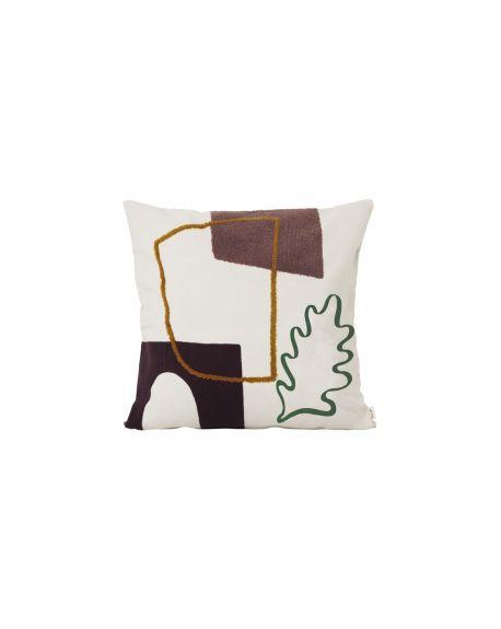 Ferm LIVING - Mirage Cushion - Leaf