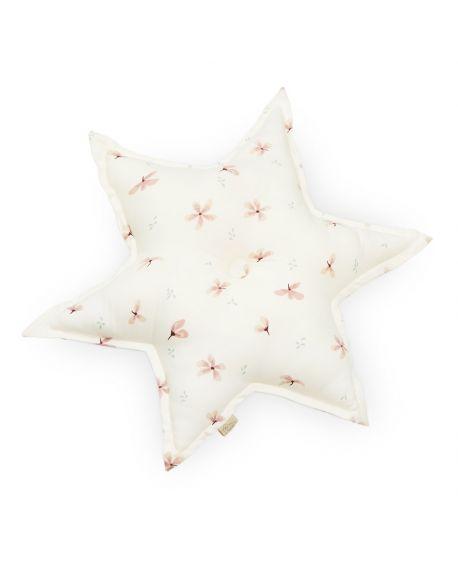 CAM CAM COPENHAGEN - Star Cushion - Wind flower creme