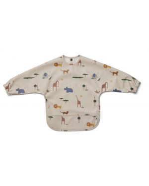 Liewood - Merle cape Bib - Safari Sandy Mix