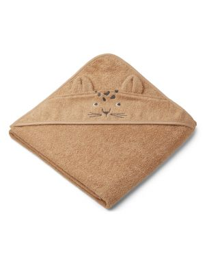 Liewood - Augusta Hooded Towel - Leopard - Apricot