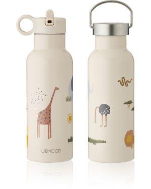 Liewood -Neo water bottle - Safari Sandy Mix
