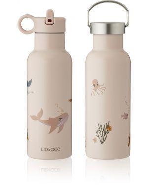 Liewood - Neo water big bottle - Sea Creature Rose Mix
