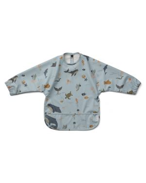 Liewood - Merle cape Bib - Sea Creature