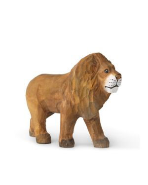 FERM LIVING KIDS - Figurine Lion sculptée à la main