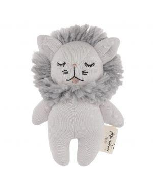 Konges Sløjd - Doudou coton Mini Lion - Gris