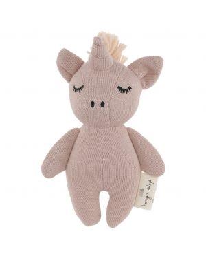Konges Sløjd - Teddy bear Mini Unicorn - Rose Fawn