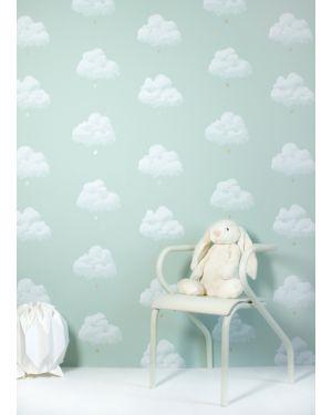 BARTSCH - WALLPAPER - Cotton clouds Sea green