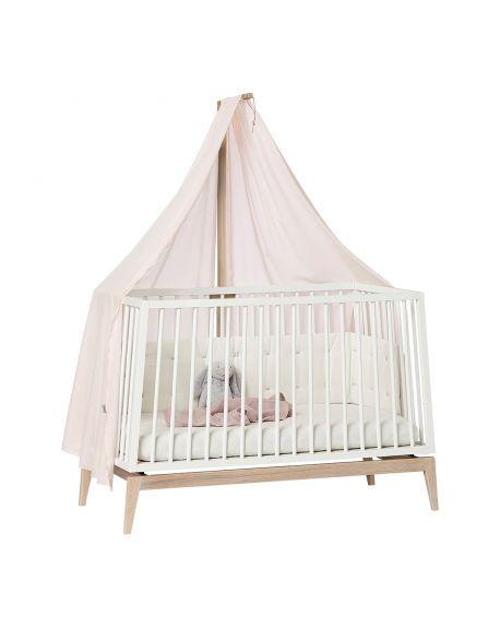 LEANDER Flèche de lit bébé Linea/Luna, Chêne