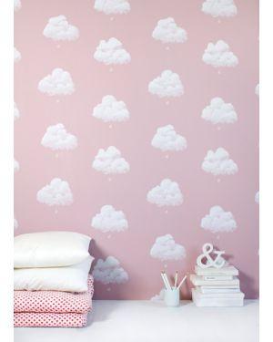 BARTSCH - WALLPAPER - Cotton clouds, Pink sandalwood