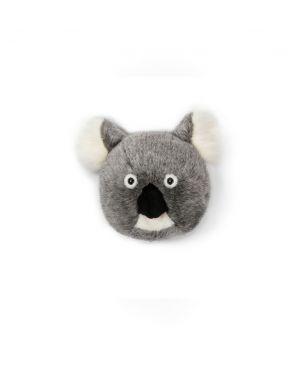 WILD & SOFT - Trophy in plush - Koala's head - Noah
