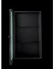 FERM LIVING - HAZE WALL CABINET - Wired Glass Black
