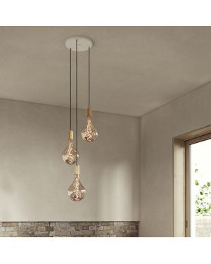 Tala - Ceiling plate without pendants, fitted for UK/EU usage