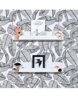 Jungle by jungle - Etagère murale design - Blanc
