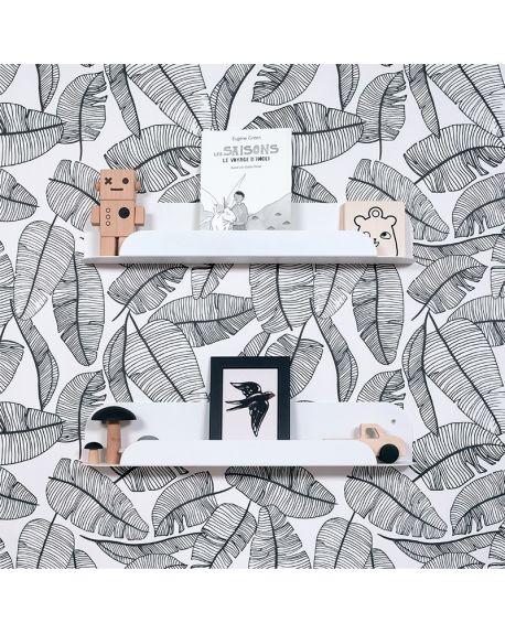 Jungle by jungle - Wall Shelf for kids - My little boudoir - Black